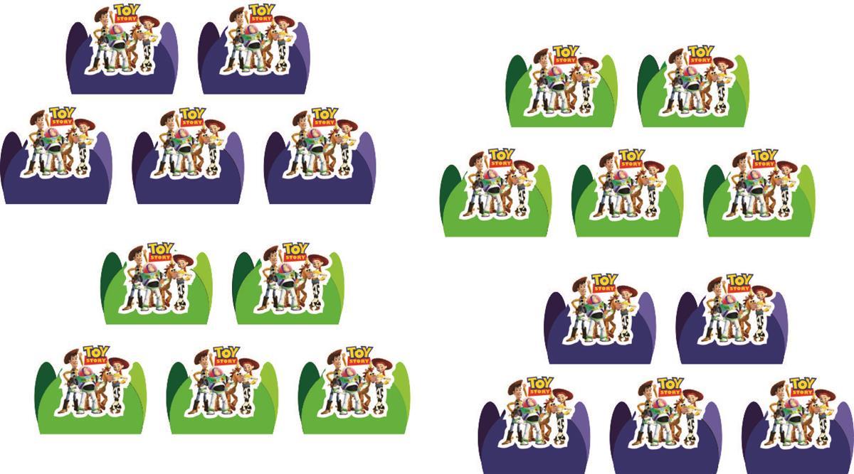 Kit festa Toy Story 107 peças (10 pessoas)