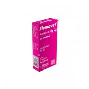 Anti-inflamatório Agener União Flamavet Meloxicam para Gatos 10 comprimidos 0,2 mg
