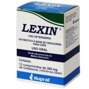 Antibiótico Duprat Lexin 300 mg - 12 Comprimidos