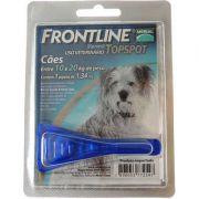 Antipulgas e Carrapatos Frontline Top Spot para Cães de 10 a 20 Kg - 1 Pipeta