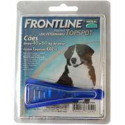 Antipulgas e Carrapatos Frontline Top Spot para Cães de 40 a 60 Kg - 1 Pipeta