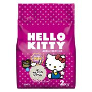 Areia Sanitária Hello Kitty Bio Rosa Fina - 2 kg