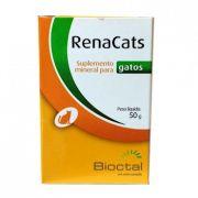 Suplemento Mineral Candioli RenaCats Tratamento Renal 50 g