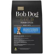 Ração Bob Dog Gold Premium Especial Mini Bits Frango e Arroz para Cães Adultos de Raças Pequenas