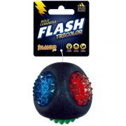 Brinquedo Jambo Bola Luminosa Flash Tricolor Resistente