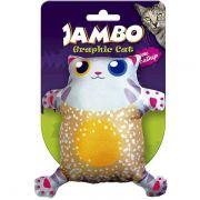 Brinquedo Jambo Graphic Cat Cut Laranja