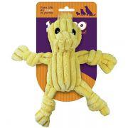Brinquedo Jambo Mordedor Mini Knot Duck Amarelo