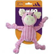 Brinquedo Jambo Mordedor Mini Knot Pig Rosa