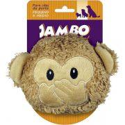 Brinquedo Jambo Mordedor Pelúcia Emoji Macaco