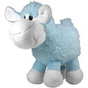 Brinquedo Jambo Mordedor Pelúcia Ovelha Azul