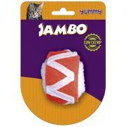 Brinquedo Jambo Yummy Cat Sushi