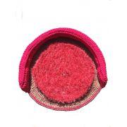 Cama Bicho Preguiça Pet Crochê Lelah Vermelha até 13 kg