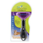 Escova Tira Pelo Furminator para Gatos com Pelo Curto - Grande