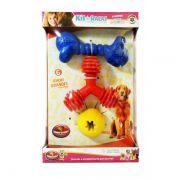 Kit de Brinquedos Furacão Pet para Raças Grandes