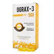 Suplemento Avert Ograx-3 para Cães e Gatos - 30 Cápsulas