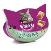 Petisco Whiskas Temptations Antibola de Pelo - 40 g