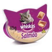Petisco Whiskas Temptations Salmão - 40 g
