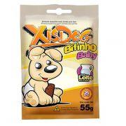 Petisco XisDog Bifinho Baby com Leite para Cães Filhotes - 55 g