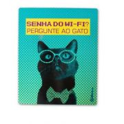 CatMyPet Placa Decorativa - Senha do Wifi