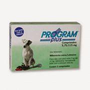 Antipulgas Vetoquinol Program Plus para Cães de 5 até 11 Kg 2 Comprimidos