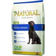 Ração Adimax Pet Formula Natural Light para Cães Adultos de Raças Médias e Grandes 14 kg