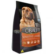Ração Farmina Cibau Sensitive Lamb para Cães Adultos Sensíveis de Raças Médias e Grandes - 12 kg