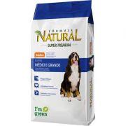 Ração Fórmula Natural Super Premium para Cães Adultos de Raças Média e Grande - 15kg