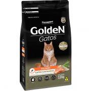 Ração Premier Golden Salmão para Gatos Adultos Castrados