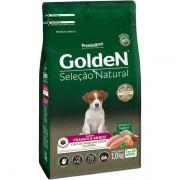 Ração Premier Golden Seleção Natural Mini Bits Frango e Arroz para Cães Filhotes de Raças Pequenas