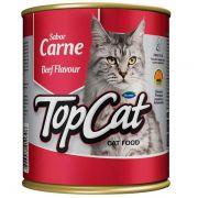 Ração Guabi Top Cat em Lata Carne
