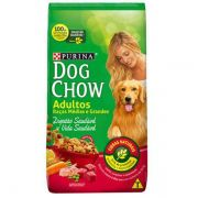 Ração Nestlé Purina Dog Chow Adultos Carne e Vegetais