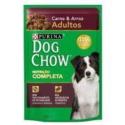 Ração Nestlé Purina Dog Chow Adultos Sachê Carne e Arroz 100 g