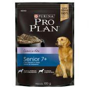 Ração Nestlé Purina Pro Plan Dog Wet Sachê Cordeiro ao Molho para Cães 7+ Adultos 100 g
