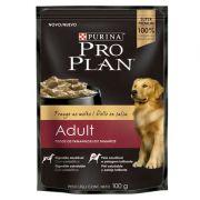 Ração Nestlé Purina Pro Plan Dog Wet Sachê Frango ao Molho para Cães Adultos 100 g