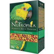 Ração Nutrópica com Frutas para Papagaios