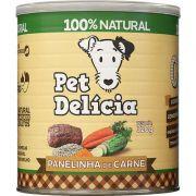 Ração Pet Delícia Panelinha de Carne 320 g