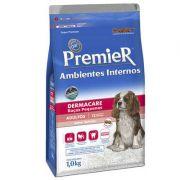 Ração Premier Ambientes Internos Dermacare para Cães Adultos de Raças Pequenas