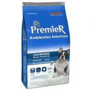 Ração Premier Pet Ambientes Internos para Cães Adultos Castrados de Raças Pequenas