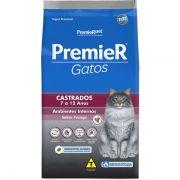 Ração Premier Pet Ambientes Internos Frango para Gatos Castrados de 7 a 12 anos de Idade