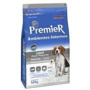 Ração Premier Pet Ambientes Internos Light Frango e Salmão para Cães Adultos de Raças Pequenas