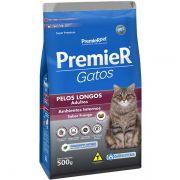 Ração Premier Pet Ambientes Internos Pelos Longos Frango para Gatos Adultos