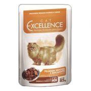 Ração Selecta Cat Excellence Sachê para Gatos Pelagem Sedosa e Brilhante 85 g