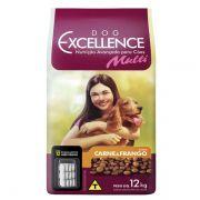 Ração Selecta Dog Excellence Multi Carne e Frango 12 kg