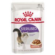 Ração Úmida Feline Heatlh Nutrition Sterilised para Gatos Castrados Adultos - 85g