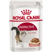 Ração Úmida Royal Canin Sachê Feline Instinctive para Gatos com mais de 12 meses de Idade - 85 g