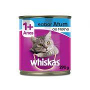 Ração Whiskas Lata Atum ao Molho - 290 g