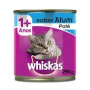 Ração Whiskas Lata Patê de Atum - 290 g