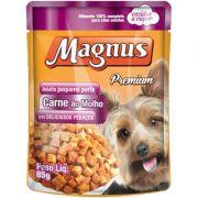 Sache Magnus Carne para Cães Adulto de Pequeno Porte 85 g