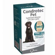 Suplemento Alimentar Syntec Condrotec Pet 60 Comprimidos 1000 mg