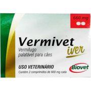Vermífugo Biovet Vermivet Iver para Cães